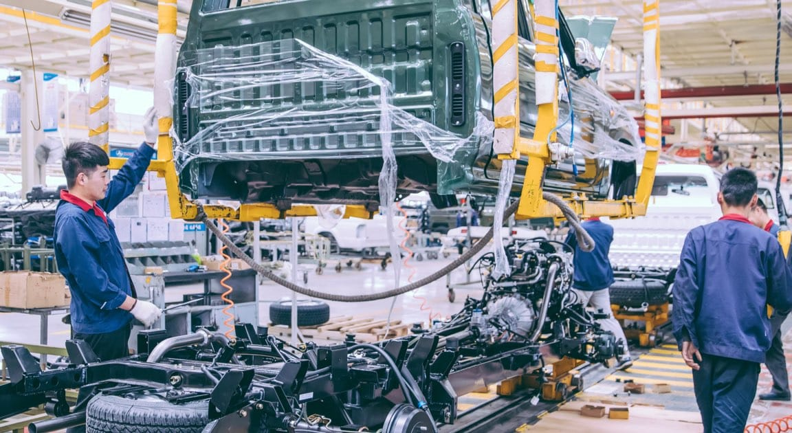 Automobile Factory Assembly